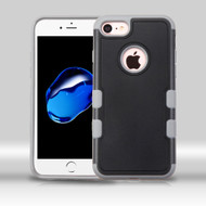 Military Grade Certified TUFF Merge Hybrid Armor Case for iPhone 8 / 7 - Black Grey