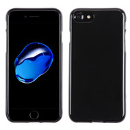 Rubberized Crystal Case for iPhone 8 / 7 - Jet Black