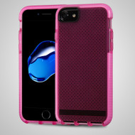 *Sale* Contempo Series Shockproof TPU Case for iPhone 7 - Hot Pink
