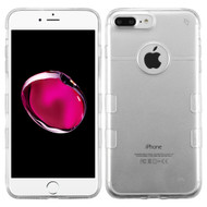 Co-Molded Impact Absorbing Transparent Case for iPhone 8 Plus / 7 Plus - Clear