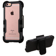 *Sale* TUFF Vivid Hybrid Armor Case with Holster for iPhone 6 Plus / 6S Plus - Black