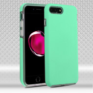 *Sale* Ezpress Anti-Slip Hybrid Armor Case for iPhone 7 Plus - Teal