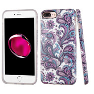 *SALE* Premium Graphic Rubberized Protective Gel Case for iPhone 7 Plus - Persian Paisley