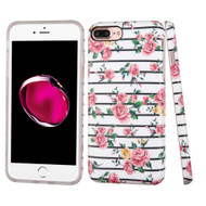 *Sale* Premium Graphic Rubberized Protective Gel Case for iPhone 7 Plus - Fresh Roses