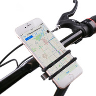 Bicycle Handlebar Mount Cell Phone Holder - Black