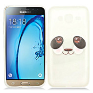 Graphic Rubberized Protective Gel Case for Samsung Galaxy Amp Prime / Express Prime / J3 / Sol - Kawaii