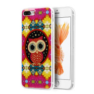 *Sale* Graphic Rubberized Protective Gel Case for iPhone 7 Plus - Owl Design 25877