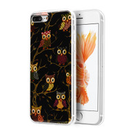 *Sale* Graphic Rubberized Protective Gel Case for iPhone 7 Plus - Owl Design 25921