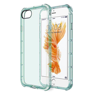 Duraproof Transparent Anti-Shock TPU Case for iPhone 7 - Blue