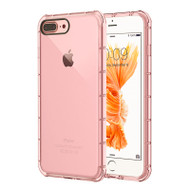 Duraproof Transparent Anti-Shock TPU Case for iPhone 8 Plus / 7 Plus - Pink