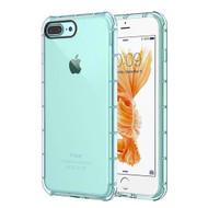 Duraproof Transparent Anti-Shock TPU Case for iPhone 7 Plus - Blue