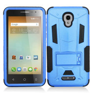 *Sale* Transformer Hybrid Armor Case with Stand for Alcatel Fierce 4 / OneTouch Allura / Pop 4 Plus - Blue