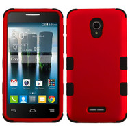 *Sale* Military Grade TUFF Hybrid Armor Case for Alcatel Fierce 4 / OneTouch Allura / Pop 4 Plus - Red