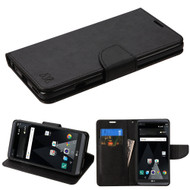 Diary Leather Wallet Case for LG V20 - Black