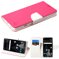 Diary Leather Wallet Case for LG V20 - Hot Pink