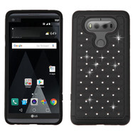 TotalDefense Diamond Hybrid Case for LG V20 - Black