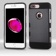 *Sale* TUFF Trooper Dual Layer Hybrid Armor Case for iPhone 7 Plus - Carbon Fiber