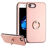 Verge Hybrid Case with Ring Holder for iPhone 8 / 7 - Rose Gold
