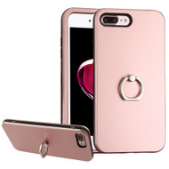 Verge Hybrid Case with Ring Holder for iPhone 8 Plus / 7 Plus - Rose Gold