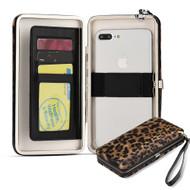 Universal Vera Clutch Wallet Case - Leopard