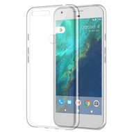 Rubberized Crystal Case for Google Pixel XL - Clear