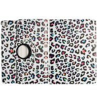 360 Degree Smart Rotary Leather Case for iPad Pro 9.7 inch - Colorful Leopard