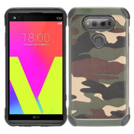 *Sale* Tough Anti-Shock Hybrid Case for LG V20 - Camouflage