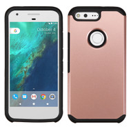 Hybrid Multi-Layer Armor Case for Google Pixel - Rose Gold