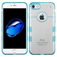 *Sale* Co-Molded Impact Absorbing Transparent Case for iPhone 7 - Blue