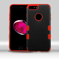 Military Grade Certified TUFF Merge Hybrid Armor Case for iPhone 8 Plus / 7 Plus - Black Red