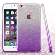 *SALE* Full Glitter Hybrid Protective Case for iPhone 6 Plus / 6S Plus - Gradient Purple