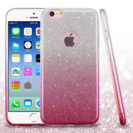 *SALE* Full Glitter Hybrid Protective Case for iPhone 6 / 6S - Gradient Pink