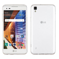Rubberized Crystal Case for LG Tribute HD / X Style - Clear