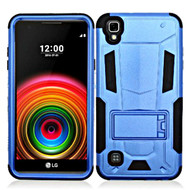 *SALE* Transformer Hybrid Armor Case with Stand for LG Tribute HD / X Style - Blue