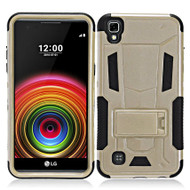 *Sale* Transformer Hybrid Armor Case with Stand for LG Tribute HD / X Style - Gold