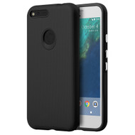 Ezpress Anti-Slip Hybrid Armor Case for Google Pixel XL - Black