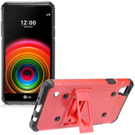 *Sale* Extreme Armor Hybrid Case with Stand for LG Tribute HD / X Style - Red