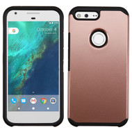 Hybrid Multi-Layer Armor Case for Google Pixel XL - Rose Gold