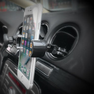 U-Grip Swivel Air Vent Smartphone Car Mount - Black