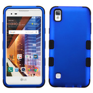 *SALE* Military Grade TUFF Hybrid Armor Case for LG Tribute HD / X Style - Blue