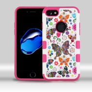 Military Grade Certified TUFF Merge Image Hybrid Armor Case for iPhone 8 / 7 - Butterfly Wonderland