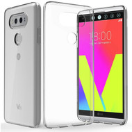 Rubberized Crystal Case for LG V20 - Clear