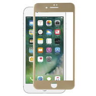 Blue Light UV Filter 3D Curved Soft Edge Tempered Glass Screen Protector for iPhone 7 - Gold