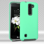 Ezpress Anti-Slip Hybrid Armor Case for LG K7 / K8 / Escape 3 / Treasure LTE / Tribute 5 - Teal