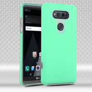 Ezpress Anti-Slip Hybrid Armor Case for LG V20 - Teal