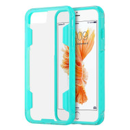 *Sale* Air Duty Transparent Hybrid Case for iPhone 7 Plus - Baby Blue