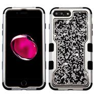 TUFF Vivid Mini Crystals Hybrid Armor Case for iPhone 8 Plus / 7 Plus - Black