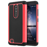 TotalDefense Hybrid Case for ZTE Zmax Pro - Hot Pink