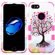 Military Grade Certified TUFF Image Hybrid Armor Case for iPhone 8 / 7 - Love Tree