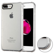 Air Sacs Transparent Anti-Shock TPU Case for iPhone 8 Plus / 7 Plus - Clear
